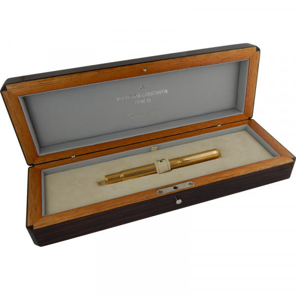 Перьевая ручка Vacheron Constantin, желтое золото