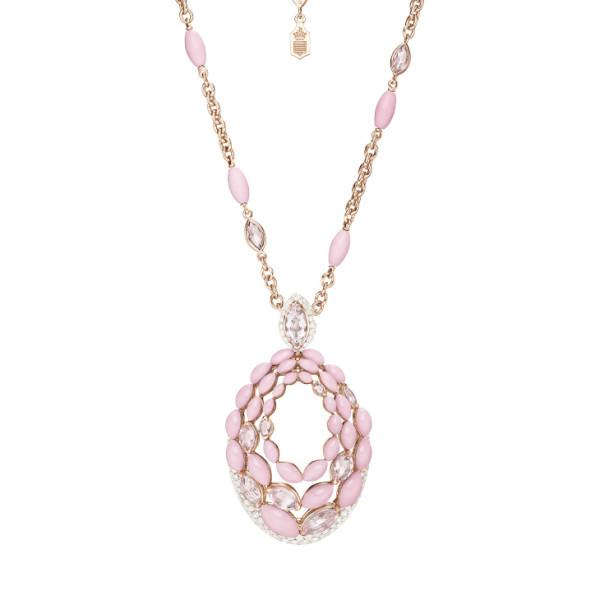 Колье de Grisogono Melody Of Colours, розовое золото, бриллианты, опалы, морганит