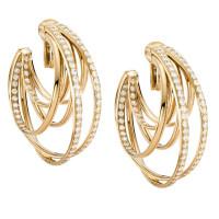 Серьги de Grisogono Allegra, желтое золото, бриллианты