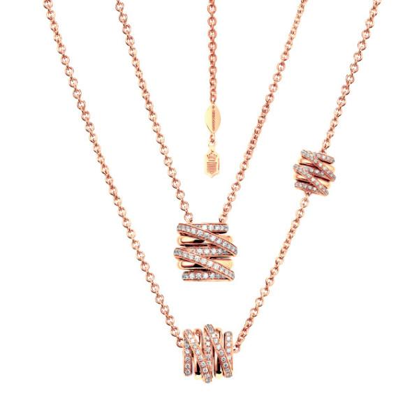 Ожерелье de Grisogono Allegra, розовое золото, бриллианты