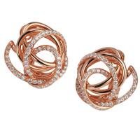 Серьги de Grisogono Matassa, розовое золото, бриллианты