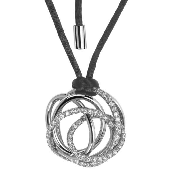 Подвеска de Grisogono Matassa, белое золото, бриллианты