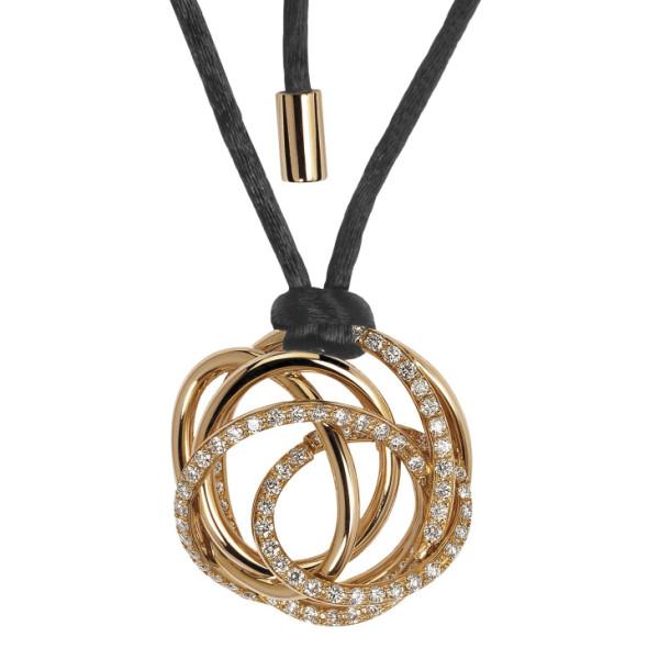 Подвеска de Grisogono Matassa, розовое золото, бриллианты