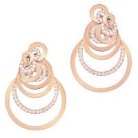 Серьги de Grisogono Gypsy, розовое золото, бриллианты