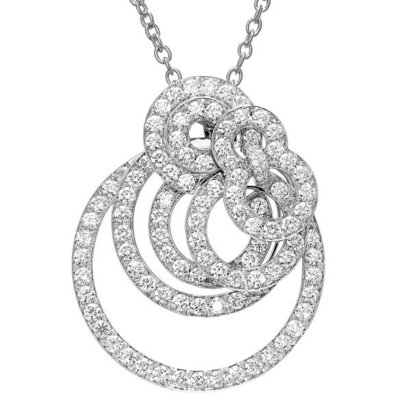 Подвеска de Grisogono Gypsy, белое золото, бриллианты