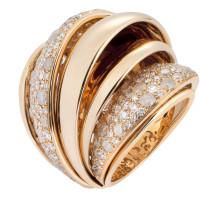 Кольцо de Grisogono Jane, розовое золото, бриллианты
