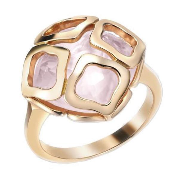 Кольцо Chopard Imperiale, розовое золото, кварц