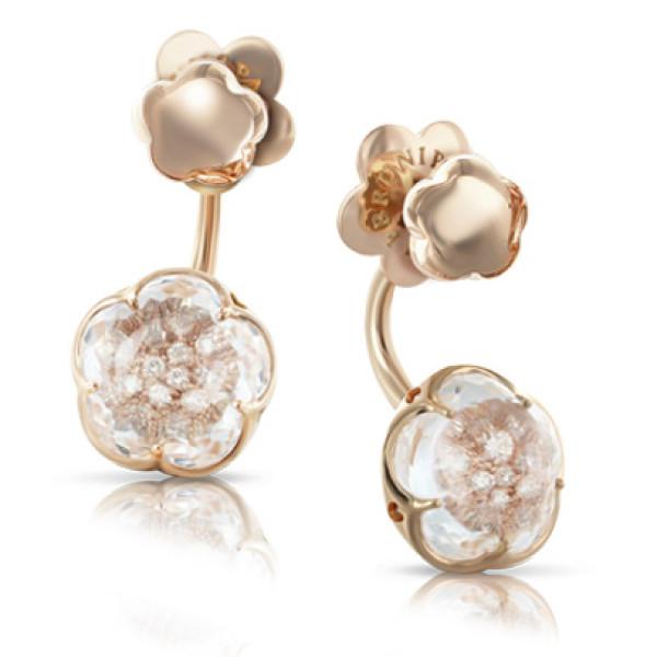 Серьги Pasquale Bruni Bon Ton, розовое золото, бриллианты