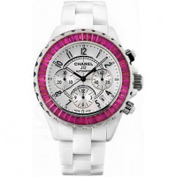 Chanel J 12 Chronograph Ruby