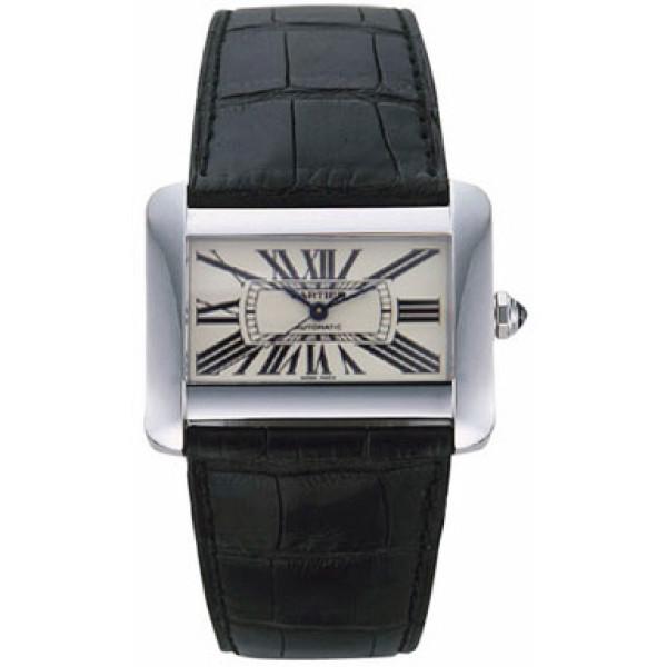 Cartier watches Cartier Tank Divan Steel Automatic