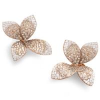 Серьги Pasquale Bruni Giardini Segreti, розовое золото, бриллианты