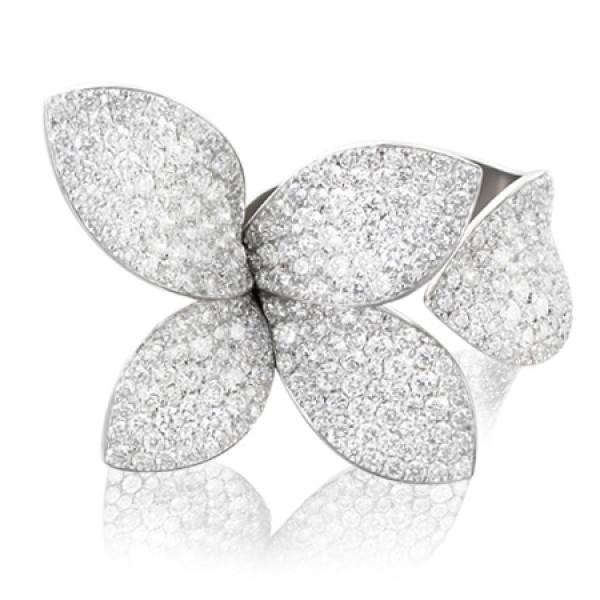Кольцо Pasquale Bruni Giardini Segreti, белое золото, бриллианты