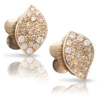 Серьги Pasquale Bruni Petit Garden, розовое золото, бриллианты