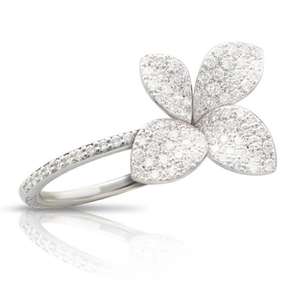 Кольцо Pasquale Bruni Petit Garden, белое золото, бриллианты