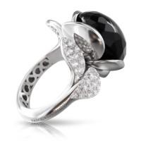 Кольцо Pasquale Bruni Petit Secret, белое золото, бриллианты, оникс