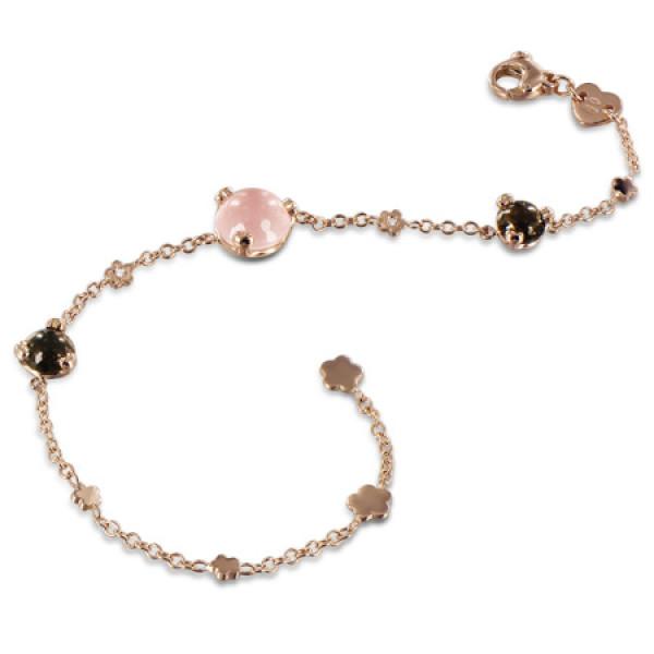Браслет Pasquale Bruni Sissi, розовое золото, бриллианты, кварц