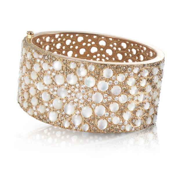 Браслет Pasquale Bruni Mandala, розовое золото, бриллианты, жемчуг