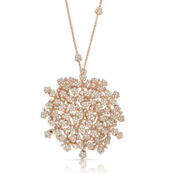 Колье Pasquale Bruni Flowery Meadow, розовое золото, бриллианты
