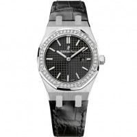 Audemars Piguet Royal Oak Quartz, сталь, бриллианты