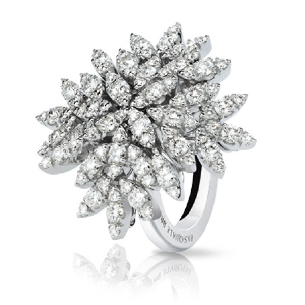 Кольцо Pasquale Bruni Ghirlanda, белое золото, бриллианты
