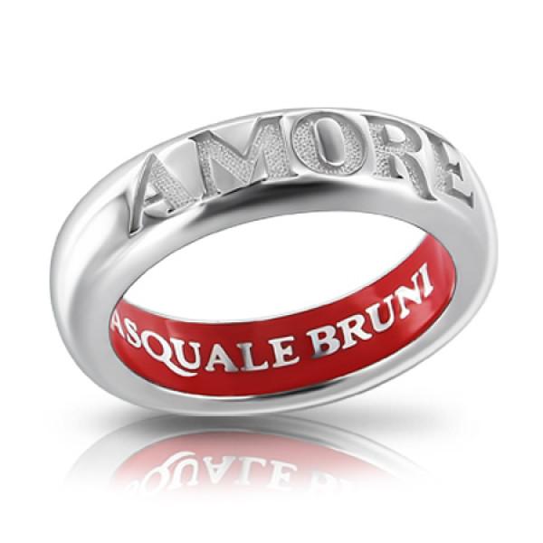 Кольцо Pasquale Bruni Amore, белое золото, эмаль