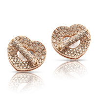 Серьги Pasquale Bruni Make Love, розовое золото, бриллианты