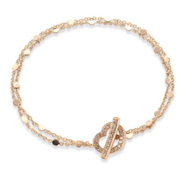 Браслет Pasquale Bruni Make Love, розовое золото, бриллианты