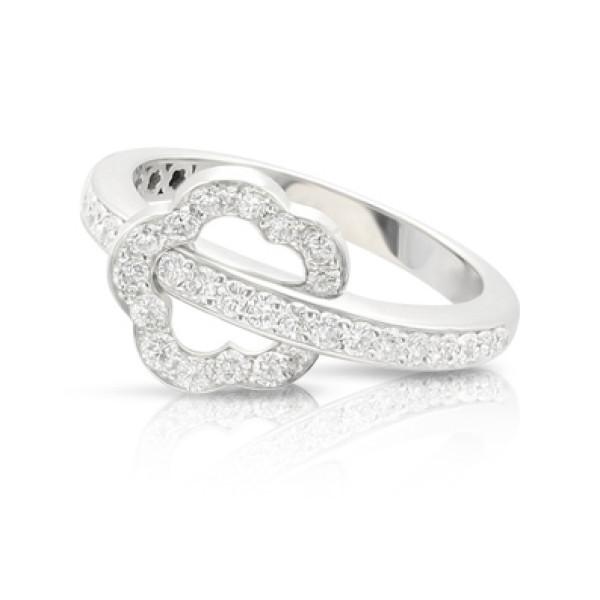 Кольцо Pasquale Bruni Make Love, белое золото, бриллианты