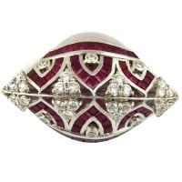 Кольцо Crivelli, белое золото, бриллианты