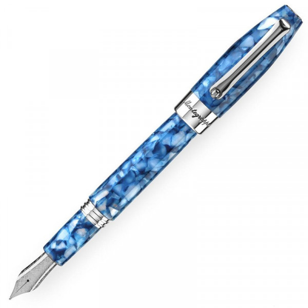 Перьевая ручка Montegrappa Fortuna Mosaic, сталь, смола