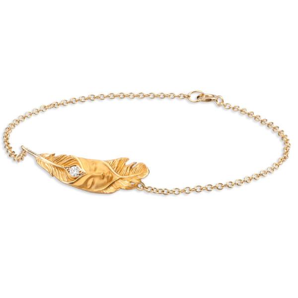 Браслет Magerit Hechizo Ilusion Small, желтое золото, бриллиант