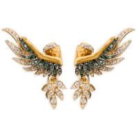 Серьги Magerit Hechizo Amanecer, желтое золото, бриллианты