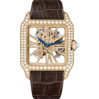 Cartier watches Santos-Dumont Skeleton