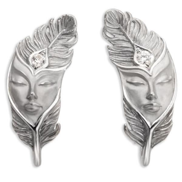 Серьги Magerit Hechizo Ilusion, белое золото, бриллиант
