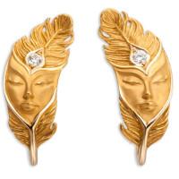 Серьги Magerit Hechizo Ilusion, желтое золото, бриллиант