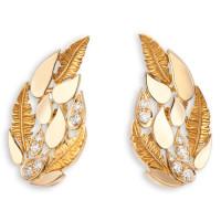 Серьги Magerit Hechizo Romance, желтое золото, бриллианты
