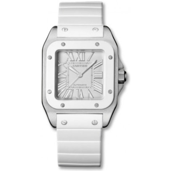 Cartier watches Santos 100 Medium