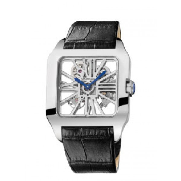 Cartier watches Santos 100 Squelette