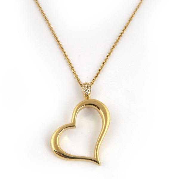 Подвеска Piaget, золото, бриллианты