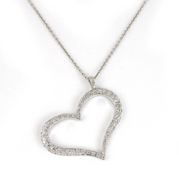 Подвеска Piaget белое золото 750 4,3 гр бриллианты