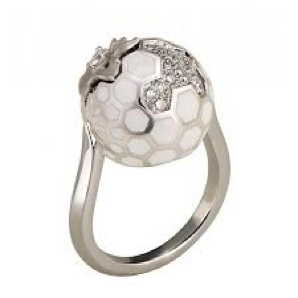 Кольцо Magerit Nature, белое золото, бриллианты