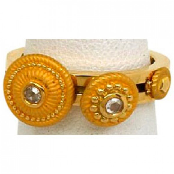 Кольцо Carrera y Carrera, желтое золото, бриллианты