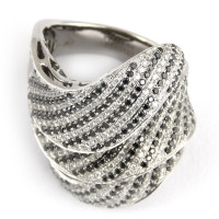 Кольцо Staurino Fratelli, белое золото, бриллианты