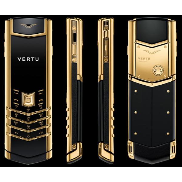 Vertu Signature S Design Yellow Gold