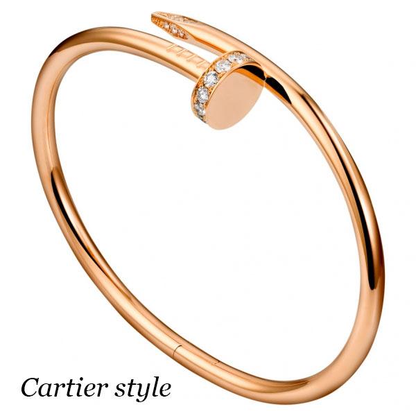 Браслет Cartier Juste un Clou, розовое золото 750 пробы