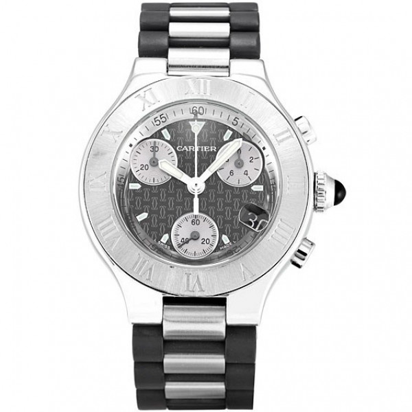 Cartier watches 21 Chronoscaph