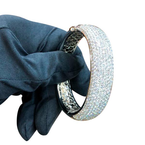 Браслет Jacob & Co., белое золото, бриллианты 23ct