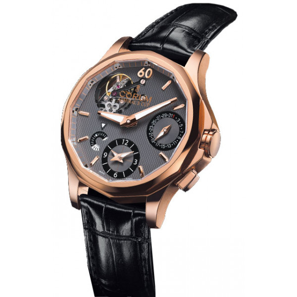 Corum watches Seafender 47 Tourbillon GMT