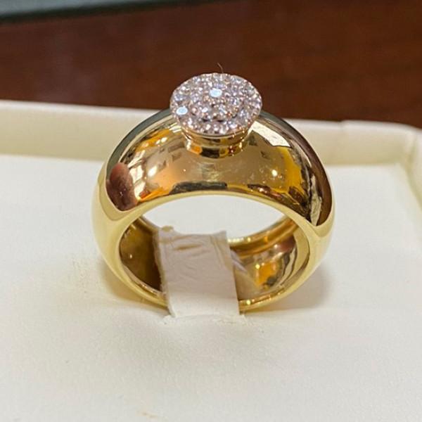 Кольцо Chimento, золото, бриллианты
