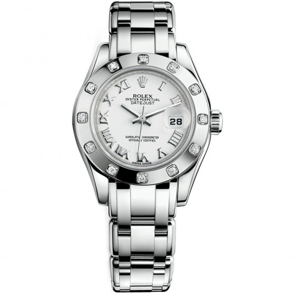 Rolex Pearlmaster White Gold 29mm